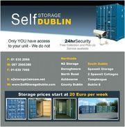 Self-Storage Unit Near M50